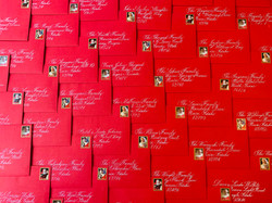 Copperplate Christmas Cards