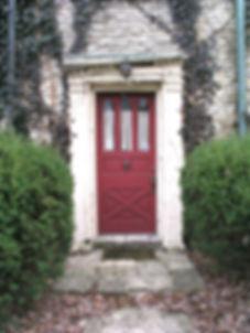 Front door of McKee House, 2006 photo