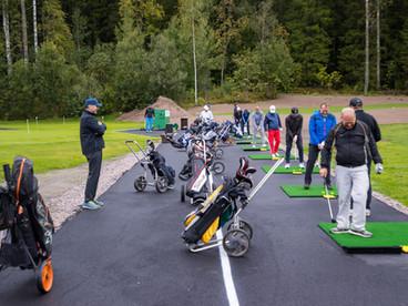 Tietotili Golf pelattiin 27.8.2021