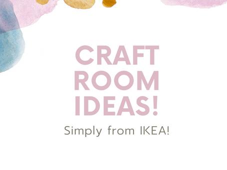 IKEA Craft room ideas!