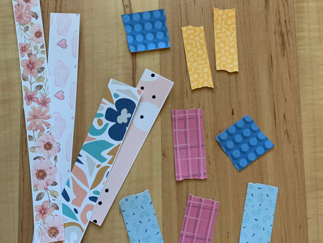 Create your own washi tape!