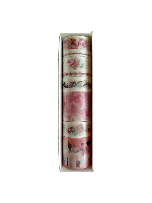 Pink design washi tape
