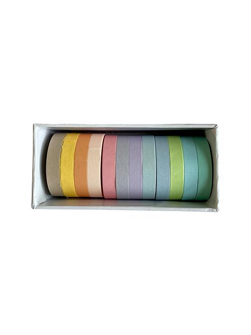 Bright colors washi tape set