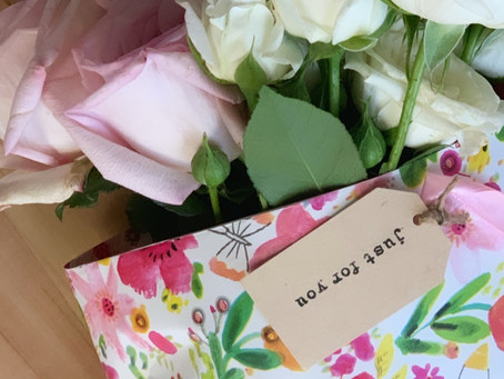 Create a flower wrap!