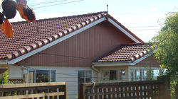 Clay Tile Installation