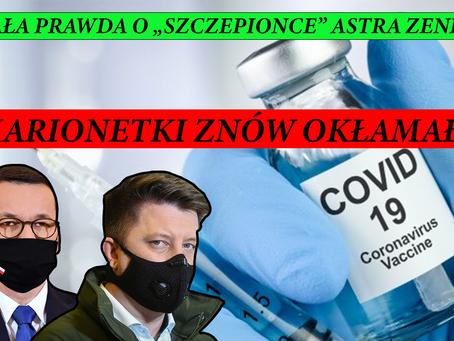 Szef kancelarii KPRM skłamał w sprawie szczepionki Astra Zeneca!
