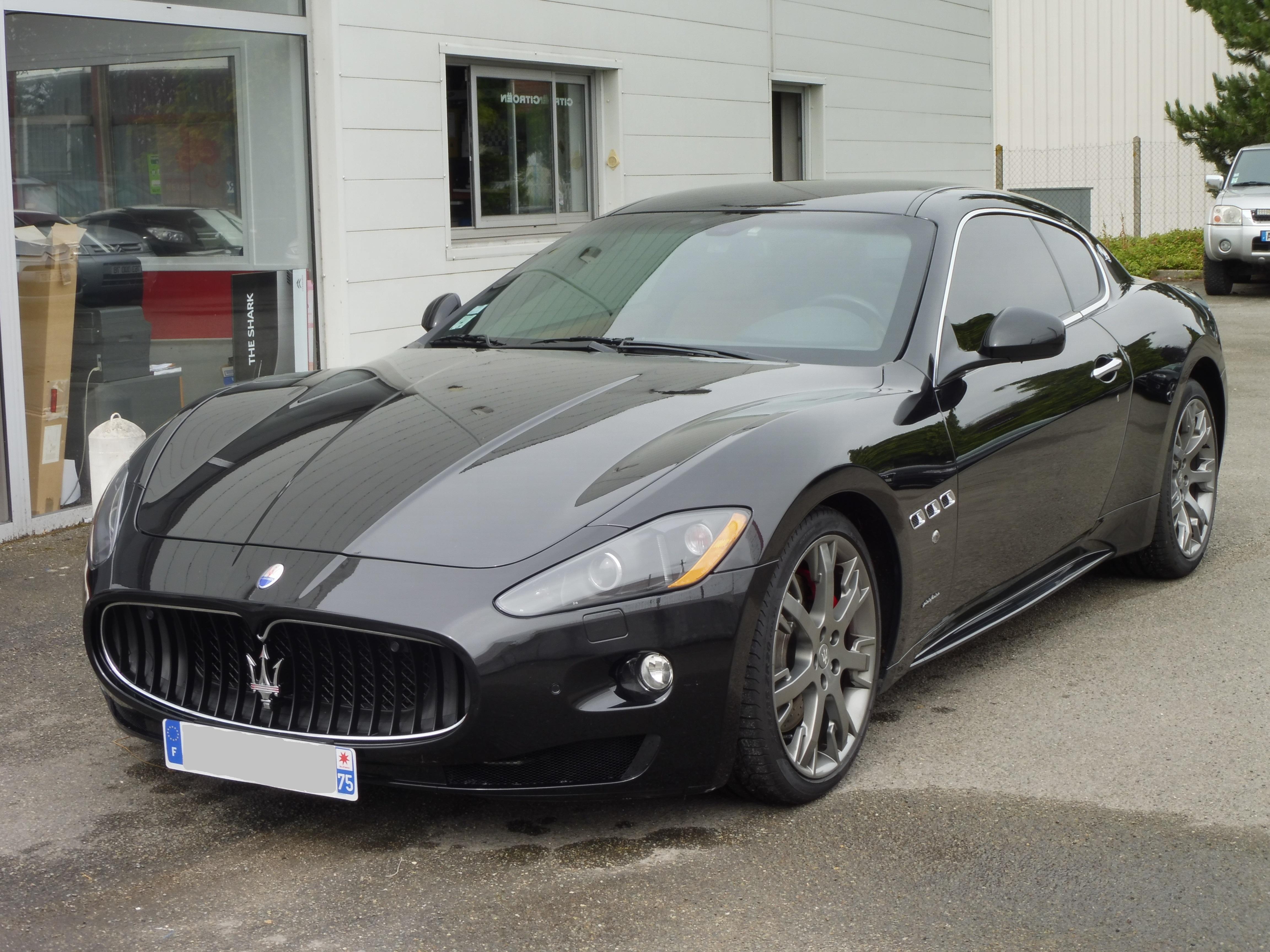 Maserati Granturismo S BVR