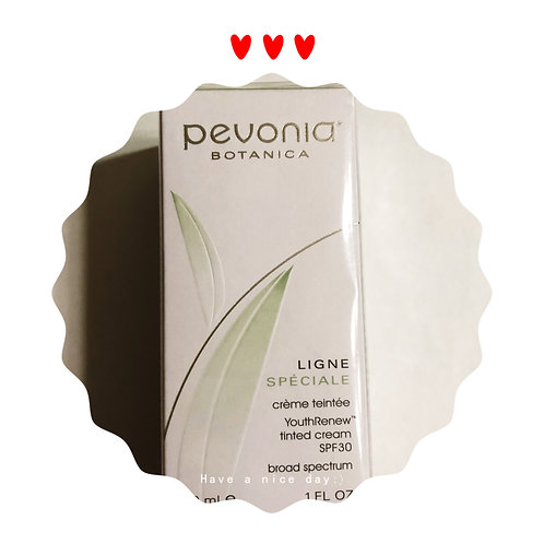 Pevonia tinted suncream