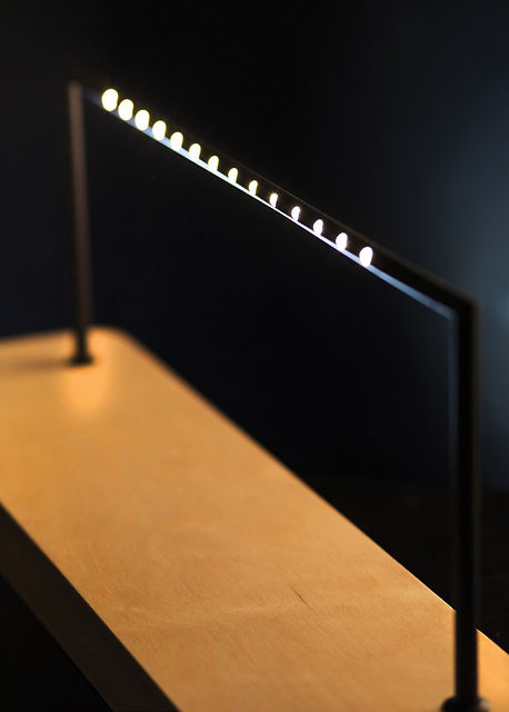 Flute LED-s avec fixations magnetiques