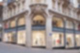 Eclairage de la boutique Annabelle Elegance à Lausanne
