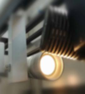 Système AB LED-s pour montage au plafond