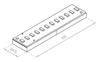 Module LED-s - 2.6W - 24VDC / Code Article : RTS-100