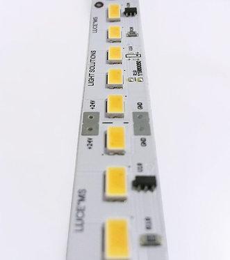 120 LED-s CRI 90 IP20 - 25W/m - 24VDC / Code article : BLS-25