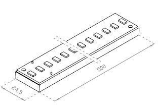 Module LED-s - 13W - 24VDC / Code Article : RTS-500