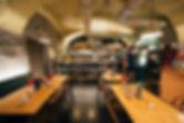 Eclairage du Restaurant Les Caves à Bienne