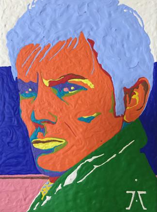 Alain Delon Portrait INITISME