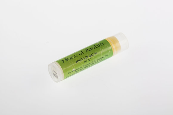 Organic Mint Lip Balm - SPF 30