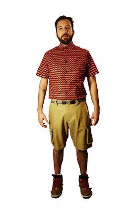 Cargo Shorts - Gold