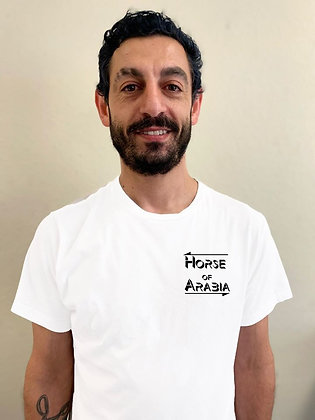 Horse of Arabia logo T-shirt