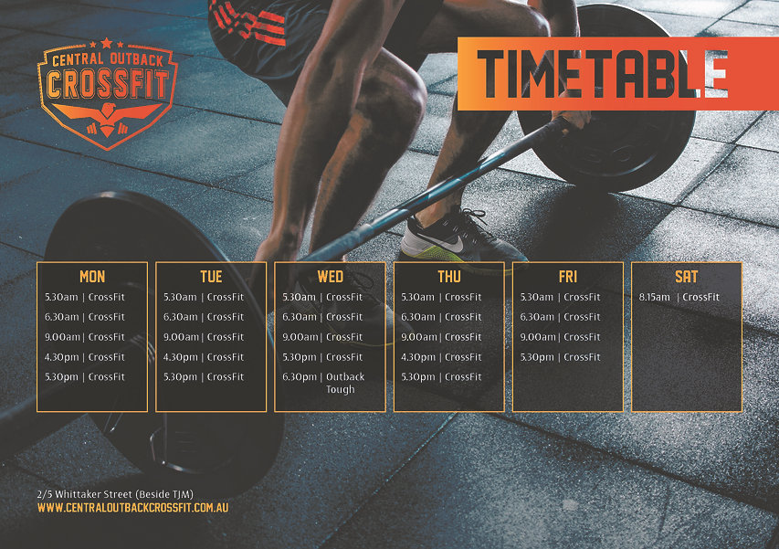 0034 CentralOutbackCrossFit TimeTable.jp