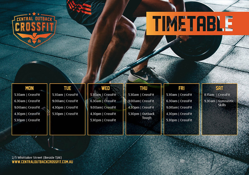 Sept 2021 CentralOutbackCrossFit TimeTable .jpeg