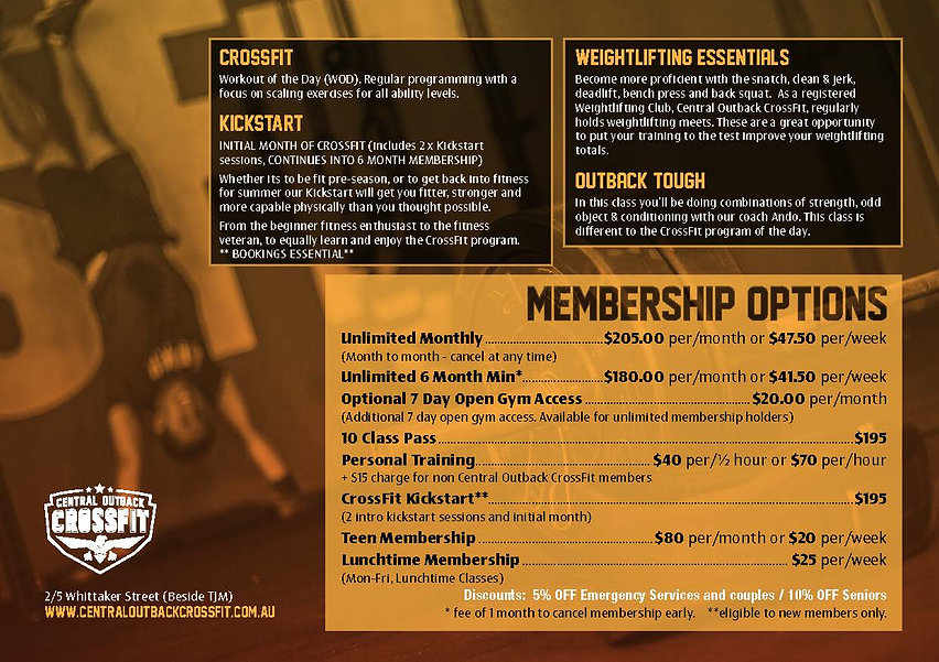 MP0005 CentralOutbackCrossFit TimeTable_