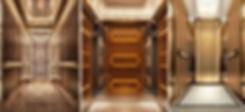 пассажирский лифт люкс, интерьер