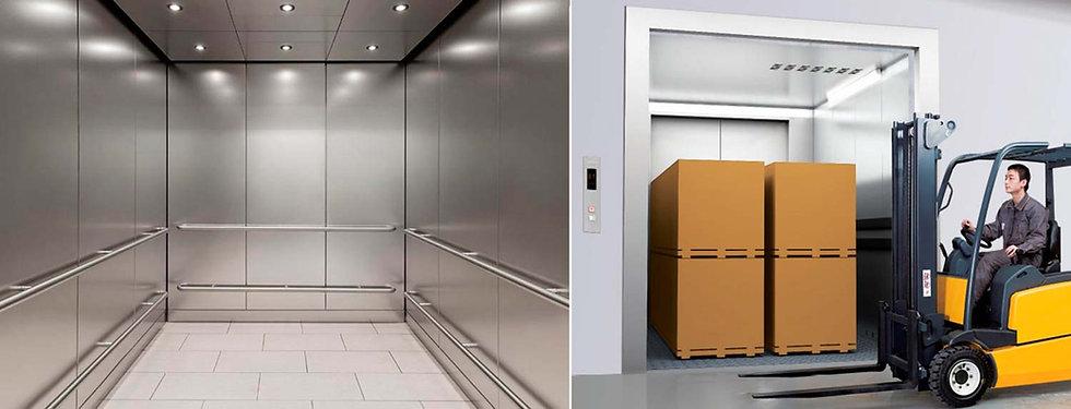 Грузовые лифты большие