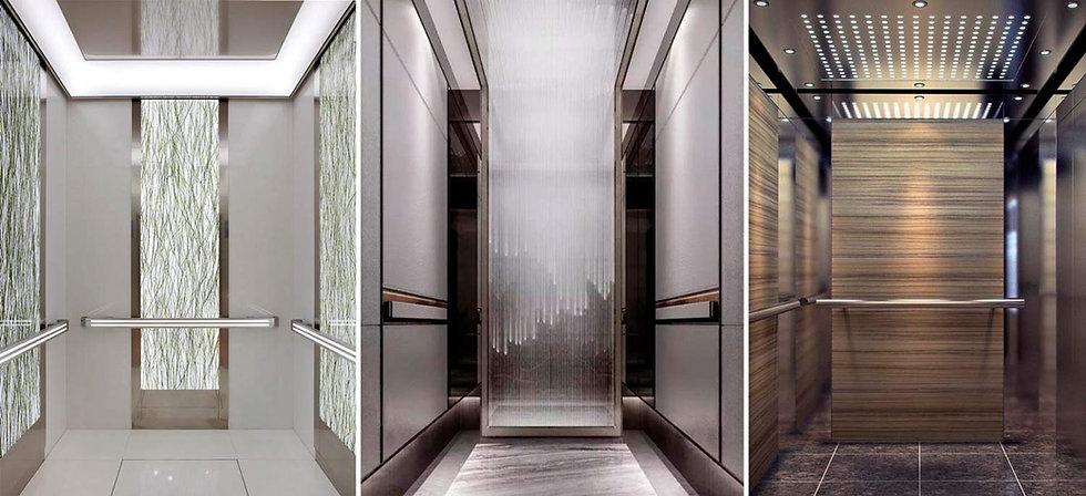 пассажирский лифт класса люкс, кабина