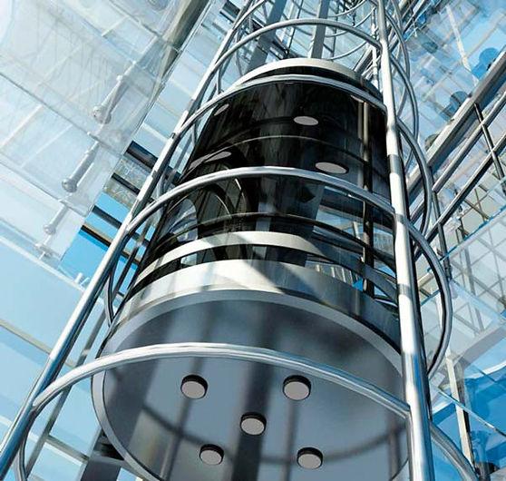 стеклянный панорамный лифт