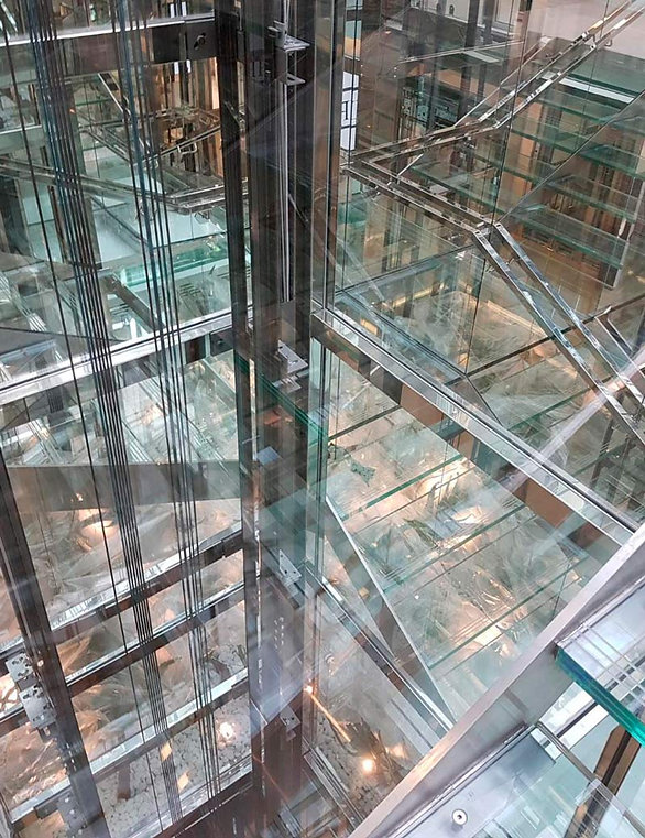 панорамый лифт, стеклянный лифт