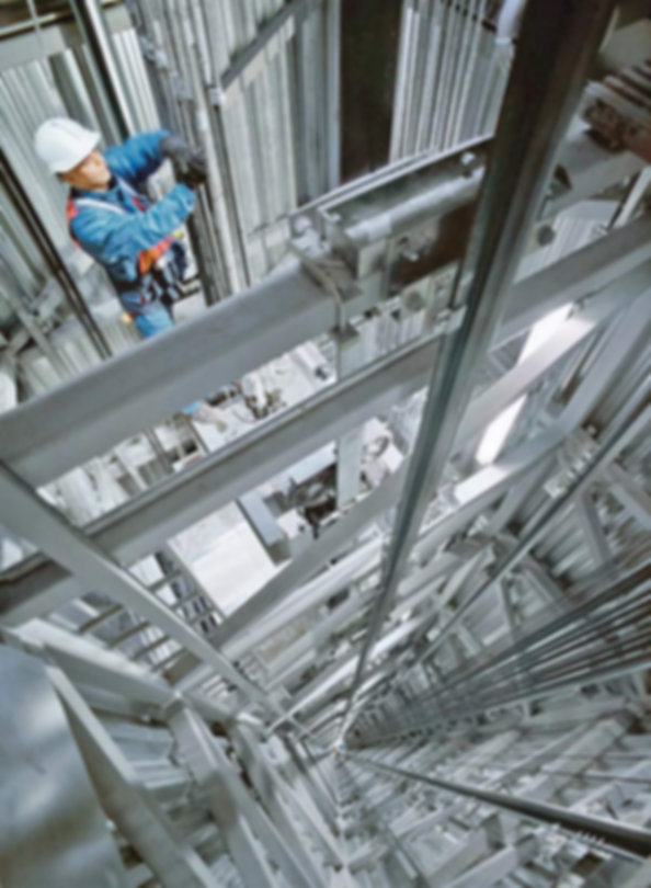 шахта лифта, монтаж лифтов, обслуживание лифтов