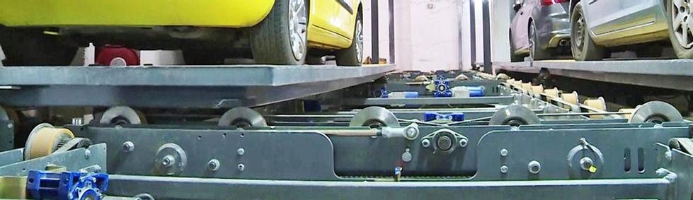 деталь механизировнной парковочой системы
