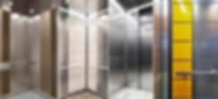 пассажирский лифт стандарт класса, кабина, интрьер