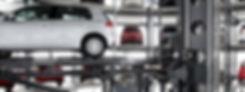 автоматическая механизированная парковка, башенная
