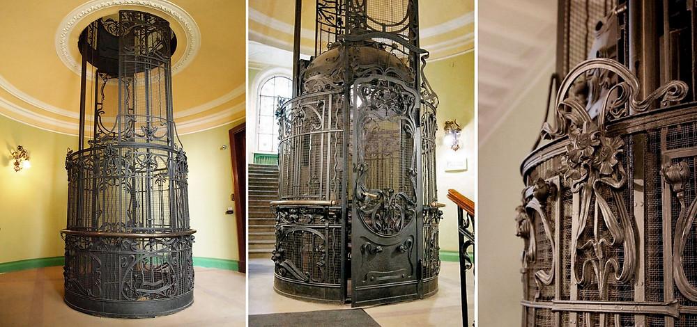 старинные лифты