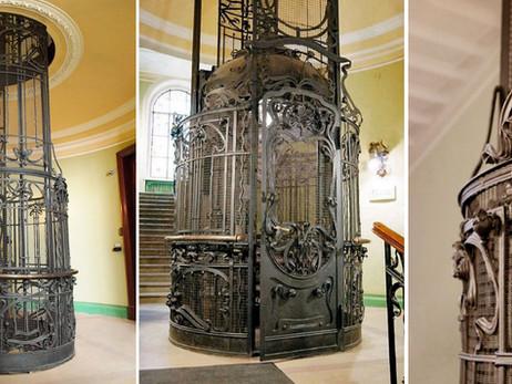 Красивые старинные лифты. Лифт доходного дома С. Муяки