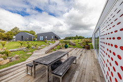BOARDWALK TO GARAGE / STUDIO & BOATSHED