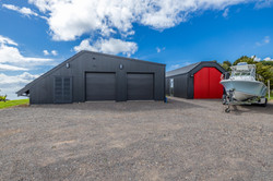 GARAGE / STUDIO & BOATSHED