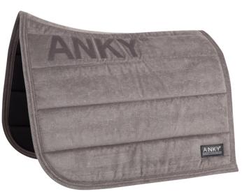 ANKY® Saddle Pad Velvet Limited Edition Dressage XB17007  2 COLORIS
