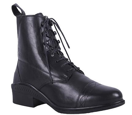 Boots Jodhpur Vivian Cuir Noir