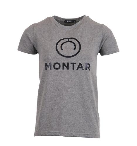 Bailey T-shirt gris avec nouveau logo Montar