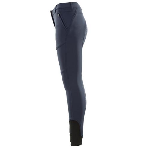 Pantalon d'équitation thermique Soft Shell et silicone