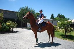 Fanny Mondon Centre Equestre de Felletin