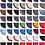 Thumbnail: Tapis de Selle HFI 30 Coloris
