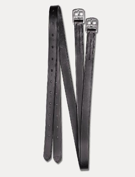 Waldhausen Etrivières X-line, 25mm Cuir Noir 140 et 150 cm