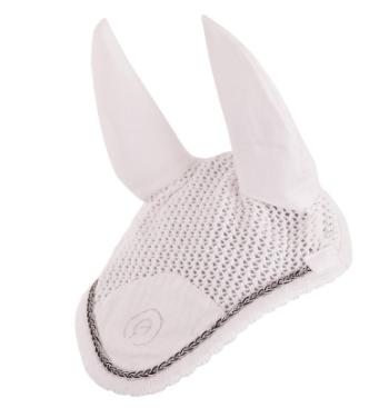 Bonnet ANKY ATB14003 Blanc tresse Argenté