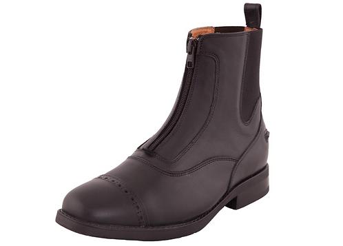 Boots Jodphur BR CL Zip Comtesse Cuir Brun ou Noir du 36 au 46