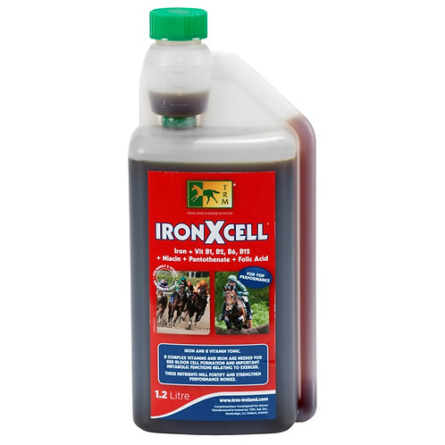 Vitamines cheval de sport 1,2 L Iron X Cell