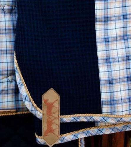 Couverture en Coton Nid d'Abeille et Insert Horizontal ou Diagonal Marta Morgan